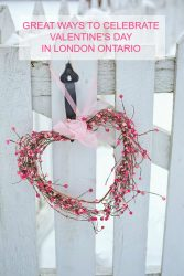 GREAT WAYS TO CELEBRATE VALENTINE'S DAY IN LONDON ONTARIO