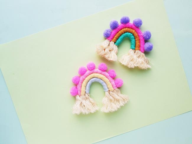 rainbow charm craft